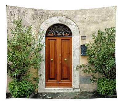 Tuscan Door Tapestry