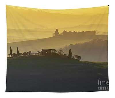 Tuscan Rolling Farmland Tapestry