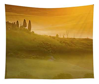 Tuscany In Gold Tapestry