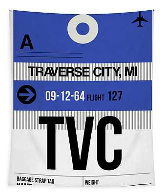 Tvc Traverse City Luggage Tag I Tapestry