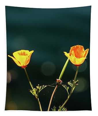 Twice  Yellow Tapestry