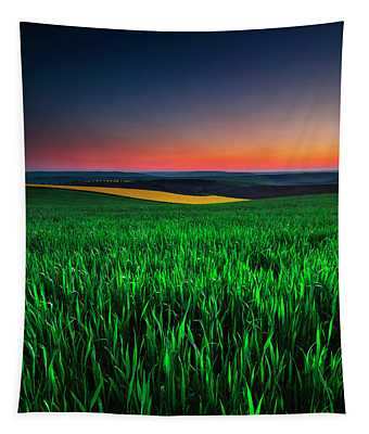 Twilight Fields Tapestry