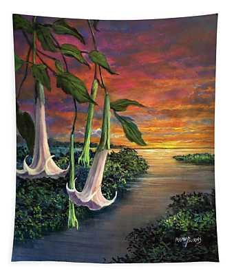Twilight Trumpets Tapestry