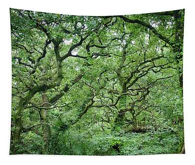 Twisted Forest Full Color Tapestry