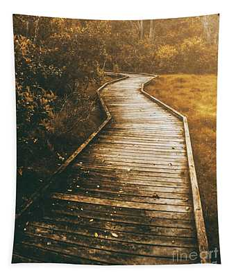 Twisting Trails Tapestry
