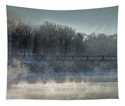 Two Cent Bridge At -5f Tapestry