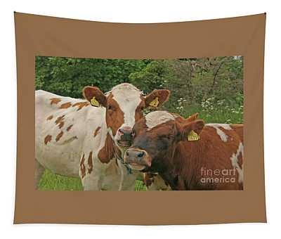 Two Cows Tapestry