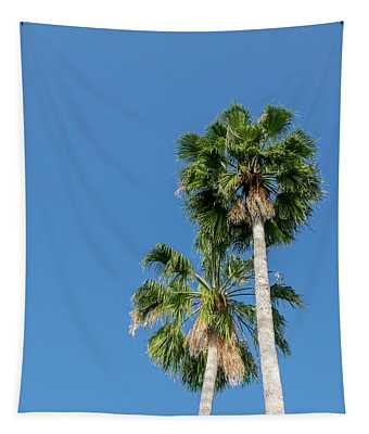 Two Palms Tapestry