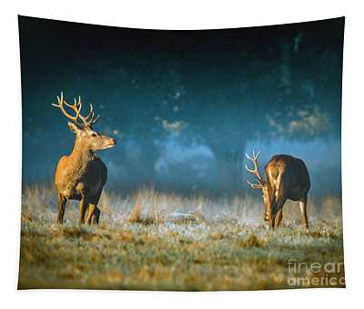 Two Stags Tapestry