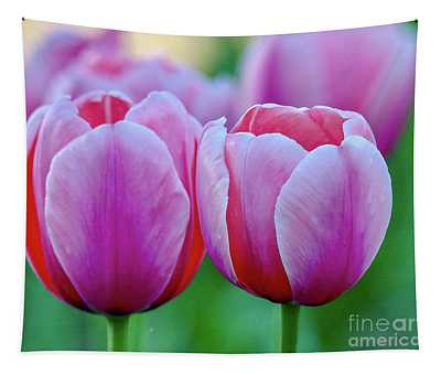 Two Tulips Tapestry