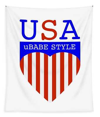 Ubabe Style America Tapestry