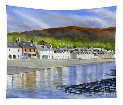 Ullapool Scotland By The Sea Tapestry