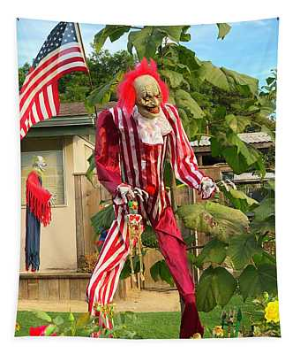 Uncle Sam Zombie Detail Tapestry