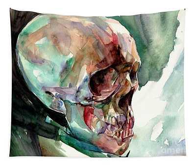 Unconfirmed Skull Tapestry