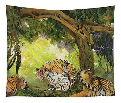 Under The Banyan Tree Tapestry