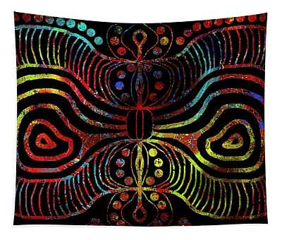 Under The Sea Digital Patterns Of Life Tapestry