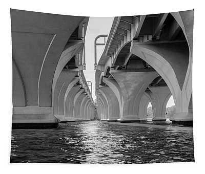 Under The Woodrow Wilson Bridge Tapestry