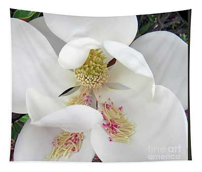 Unfolding Beauty Of Magnolia Tapestry