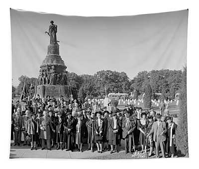 Union And Confederate Veterans Tapestry