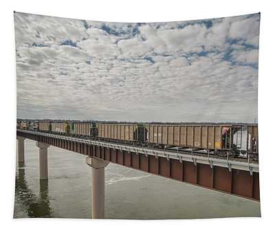 Union Pacific 4091 Heads Over The Tennessee River Tapestry