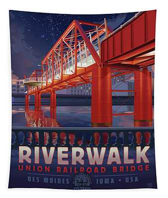 Union Railroad Bridge - Riverwalk Tapestry