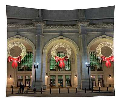 Union Station Holiday Tapestry