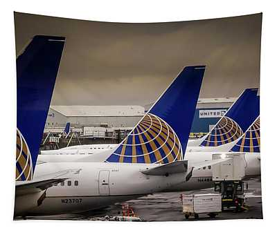 United Tails 02 Tapestry