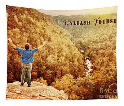 Unleash Yourself Tapestry