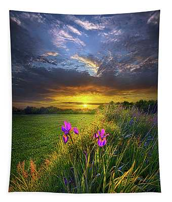 Until The Sun Comes Up Tapestry