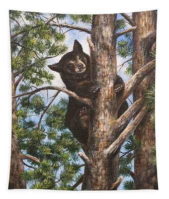 Up A Tree Tapestry
