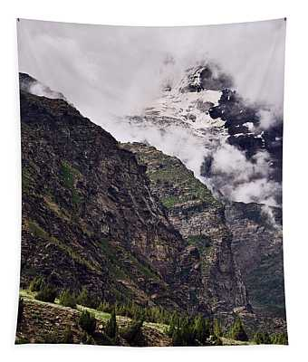 Tapestry featuring the photograph Up In The Clouds by Whitney Goodey