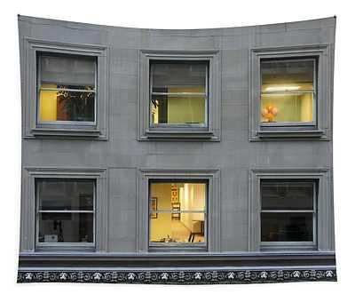 Urban Windows Tapestry
