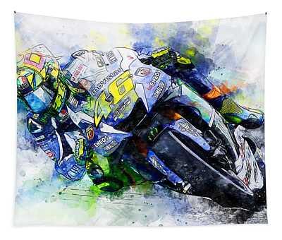 Valentino Rossi - 20 Tapestry