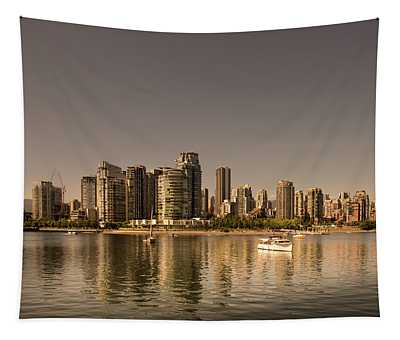 Vancouver Golden Light Hour Tapestry