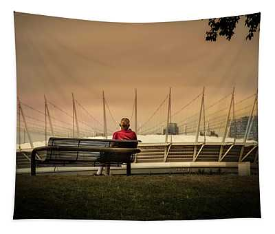 Vancouver Stadium In A Golden Hour Tapestry