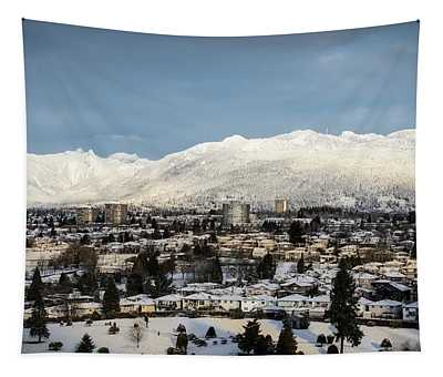 Vancouver Winterscape Tapestry