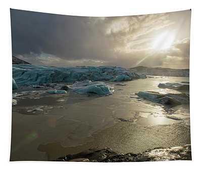 Vatnajokull Glacier 2 Tapestry