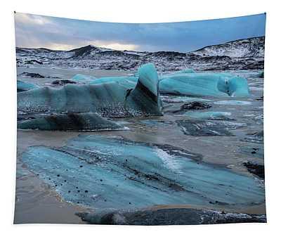 Vatnajokull Glacier 5 Tapestry