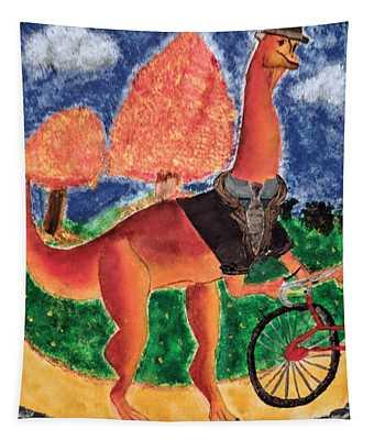 Veloci-saurus Tapestry