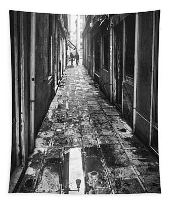 Venetian Alley Tapestry
