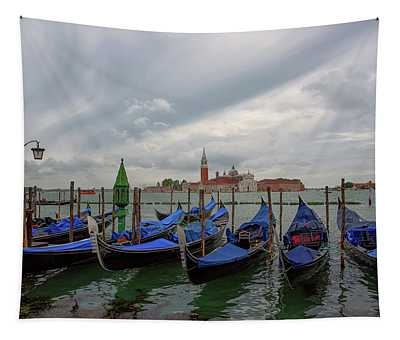 Venice Gondola's Grand Canal Tapestry