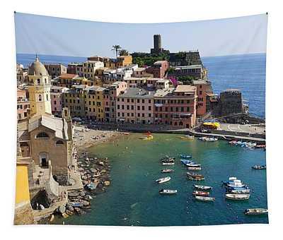 Vernazza Tapestry