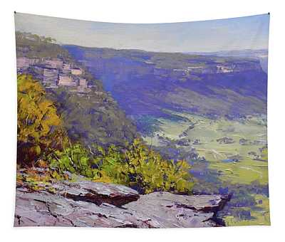View From Hassons Wall Lithgow Tapestry
