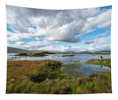 View In Glencoe, Scotland Tapestry