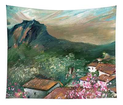 Village On The Costa Blanca 02 Tapestry