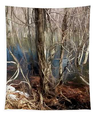 Vines In A Floodplain Forest Tapestry