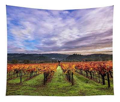 Vineyard Beauty Tapestry