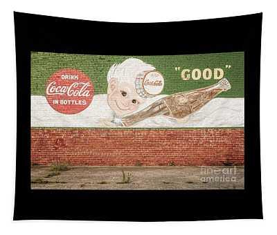 Vintage Drink Coca Cola Tapestry