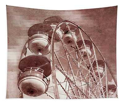 Vintage Ferris Wheel Tapestry