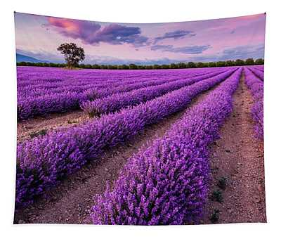 Violet Dreams Tapestry